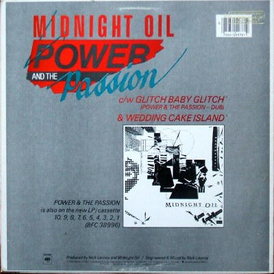 Gt Midnight Oil The Power And The Passsion 3 Track 45 Rpm