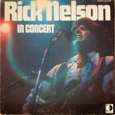 Nelson Rick In Concert At The Troubadour Vinyl