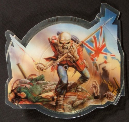 Iron Maiden Shaped Picture Disc Vinyl History The