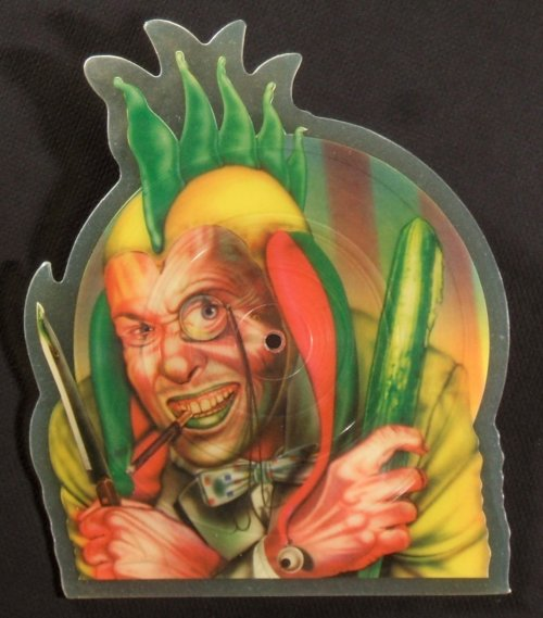 Marillion Shaped Picture Disc Vinyl History The