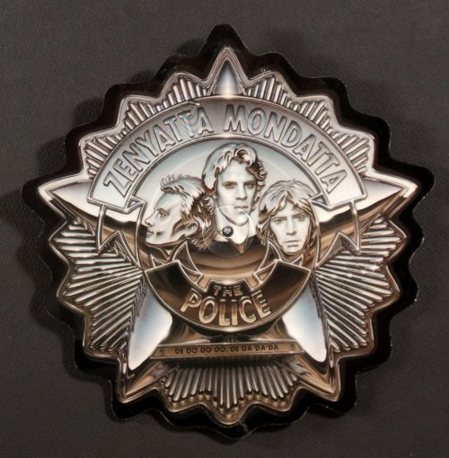 The Police Shaped Picture Disc Vinyl History The